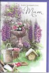 Mother's Day Card - Mum - Floral Garden
