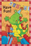 Boys Dinosaur Birthday Card