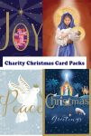 Charity Christmas Card Pack - 5 cards - 8 Designs - Religious British Heart Foundation