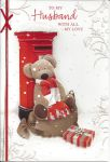 Husband - Postbox - Christmas Card