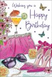 Birthday Card - Female - Handbag & Shoes