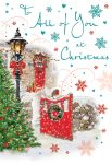 Christmas Card - To All of You - Christmas Scene - Regal