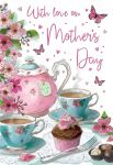 Mother's Day Card - With Love - Afternoon Tea - Regal