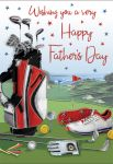 Father's Day Card - Dad Golf - Regal
