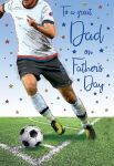 Father's Day Card - Dad Football - Regal