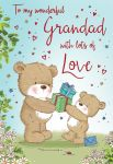 Father's Day Card - Grandad Cute Bears - Regal