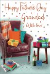 Father's Day Card - Grandad Armchair & Presents - Regal