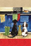 Tea Towel - Hotdogs Dog Aga - Alex Clark