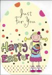 Easter Card - Just for You - Happy Easter