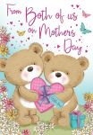 Mother's Day Card - Mum From Both of Us - Cute Teddies - Regal