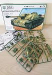 Strmgechutz IV Tank Model Kit Scale 1:72 Build & Play