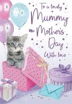 Mother's Day Card - Mummy - Kitten & Presents - Regal