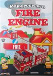 Fire Engine 3D Construction Book - Make Your Own
