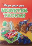 Monster Trucks 3D Construction Book - Make Your Own