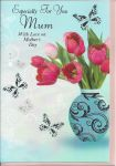 Mother's Day Card - Mum Tulips Especially For You