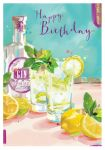 Birthday Card - Gin O'clock - At Home Ling Design