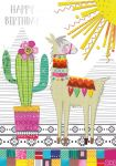 Birthday Card - Female - Llama - Georgia Breeze Ling Design