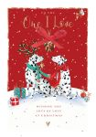Christmas Card - Deluxe - One I Love - Dalmatian Dog - The Wildlife Ling Design