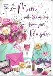 Mother's Day Card - Mum From Your Daughter - Regal