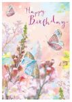Birthday Card - Butterflies - At Home Ling Design