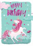 Birthday Card - Unicorn - Jack & Lily Ling Design