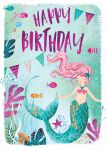 Birthday Card - Mermaid - Jack & Lily Ling Design
