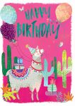 Birthday Card - Llama - Jack & Lily Ling Design