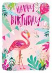 Birthday Card - Flamingo - Jack & Lily Ling Design