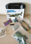 Hawker Hurricane Aeroplane Stainless Steel Model Construction Kit Set - 285 Pieces