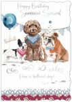 Birthday Card - Someone Special - Dogs - Out of the Blue