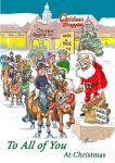 Christmas Card - To All of You - Park & Ride - Ponies Santa - Gift Envy