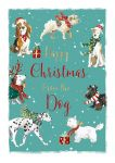 Christmas Card - From The Dog - The Wildlife Ling Design