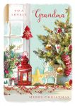 Christmas Card - Grandma - Beautiful Xmas - At Home Ling Design