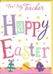 Easter Card - Teacher - Happy Easter