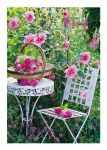 Greetings Card - Summertime Garden - Country Cards