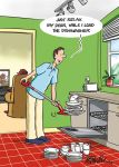 Birthday Card - Male Load The Dishwasher - Funny - Country Cards
