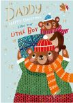 Christmas Card - Daddy From Your Little Boy - Ling Design