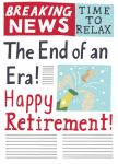 Retirement Card - End of an Era! - Saffron Ling Design