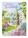 Birthday Card - Summerhouse Garden - At Home Ling Design