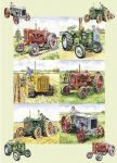 Birthday Card - Vintage Tractors - Country Cards