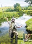 Birthday Card - Trout Fishing - Country Cards