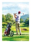Birthday Card - Golf - Pitch To The Green - Country Cards