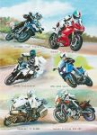 Birthday Card - Motorbikes - Country Cards