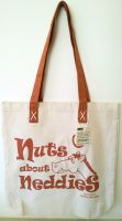 Horsey Girl Nuts about Neddies Shopper Bag