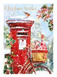 Christmas Card Pack - Christmas Post - 8 Cards Xmas Quality - Ling Design