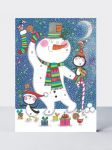 Advent Calendar Card - Christmas Snowman - Rachel Ellen
