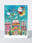 Advent Calendar Card - Christmas Santa Sleigh - Rachel Ellen