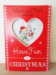 Christmas Card - Mum & Dad - Extra Large Cute Card