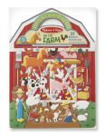 Melissa & Doug Farm Puffy Sticker Activity Board