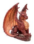 Mythical Dragon - Red - Garden Ornament - Indoor or Outdoor